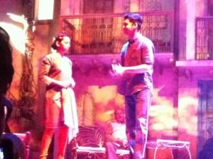 Much Ado About Nothing, Act 2, Scene 3 - Anjana Vasan and newcomer Raj Bajaj